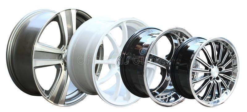колесо автомобиля сплава стоковые фото