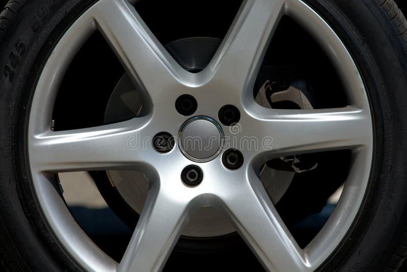 Колесо автомобиля стоковое фото