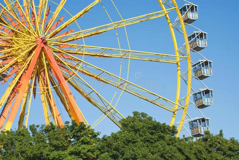 колесо Германии ferris стоковое изображение