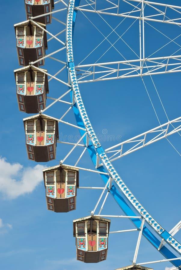 колесо Германии ferris стоковая фотография