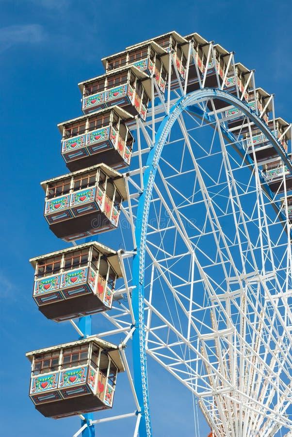 колесо Германии ferris стоковое фото rf