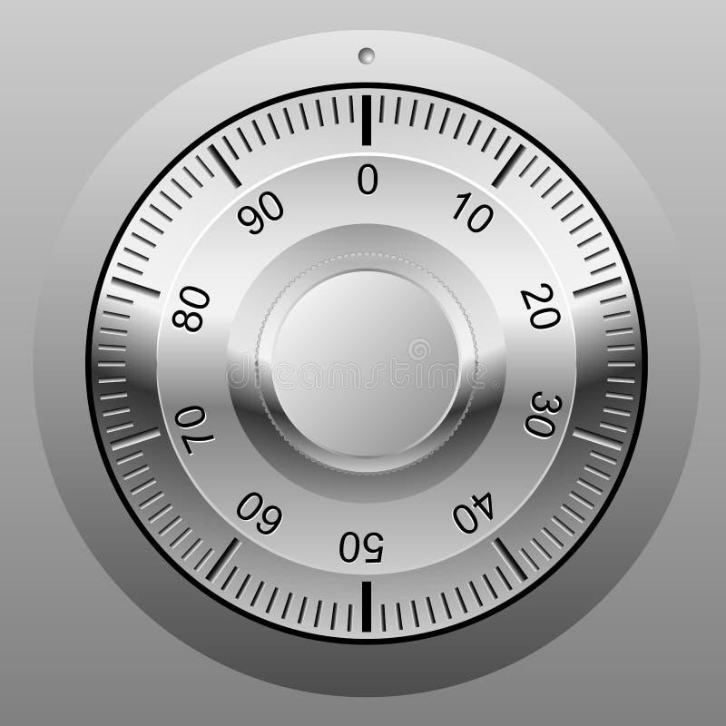 колесо замка комбинации бесплатная иллюстрация