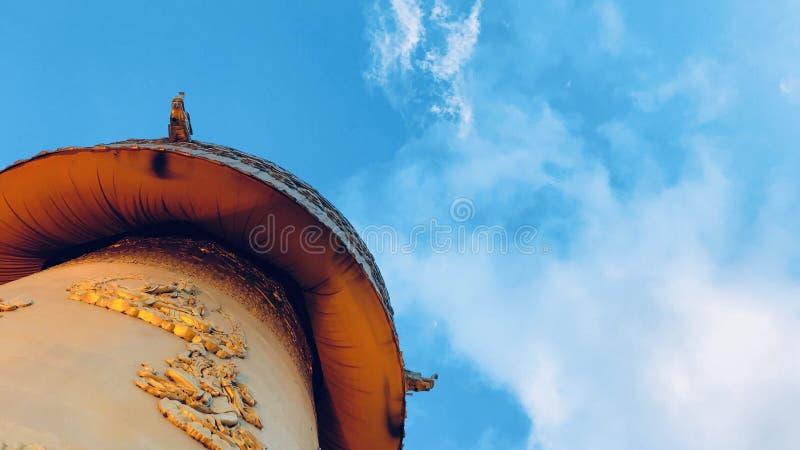 Колесо молитве Тибета стоковое изображение rf