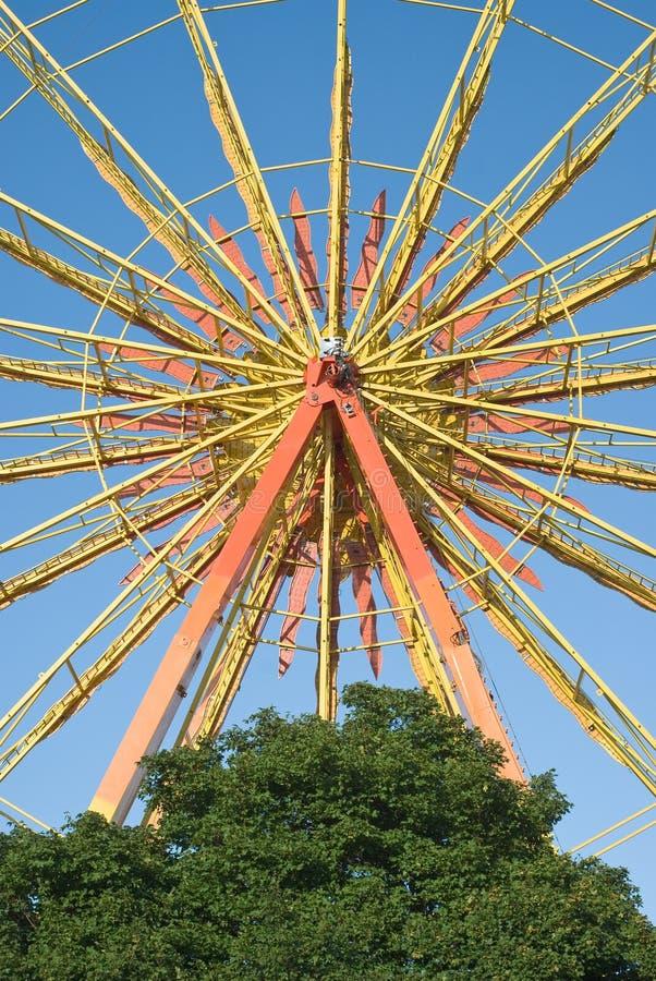 колесо празднества ferris стоковое изображение rf