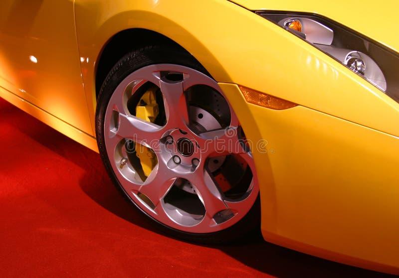 колесо сплава стоковое изображение
