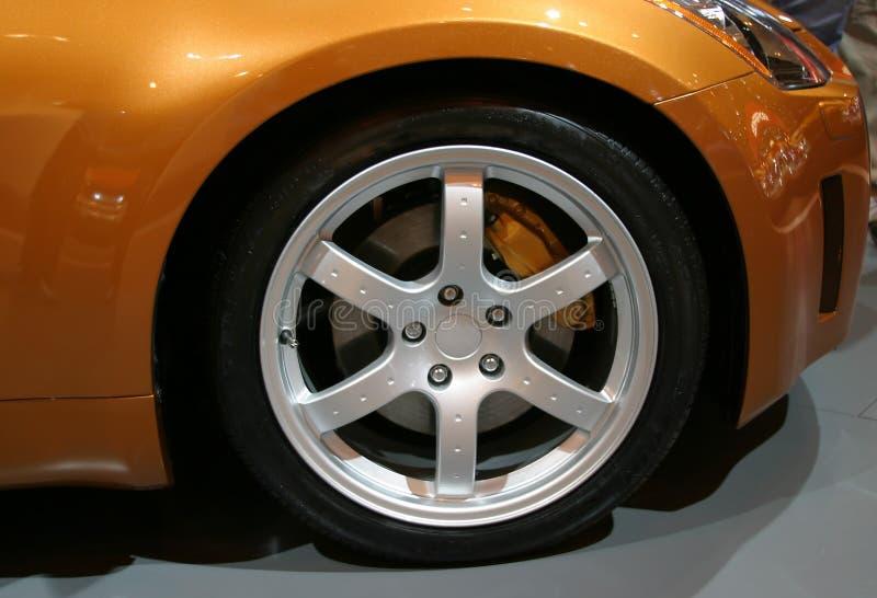 колесо сплава стоковое фото rf