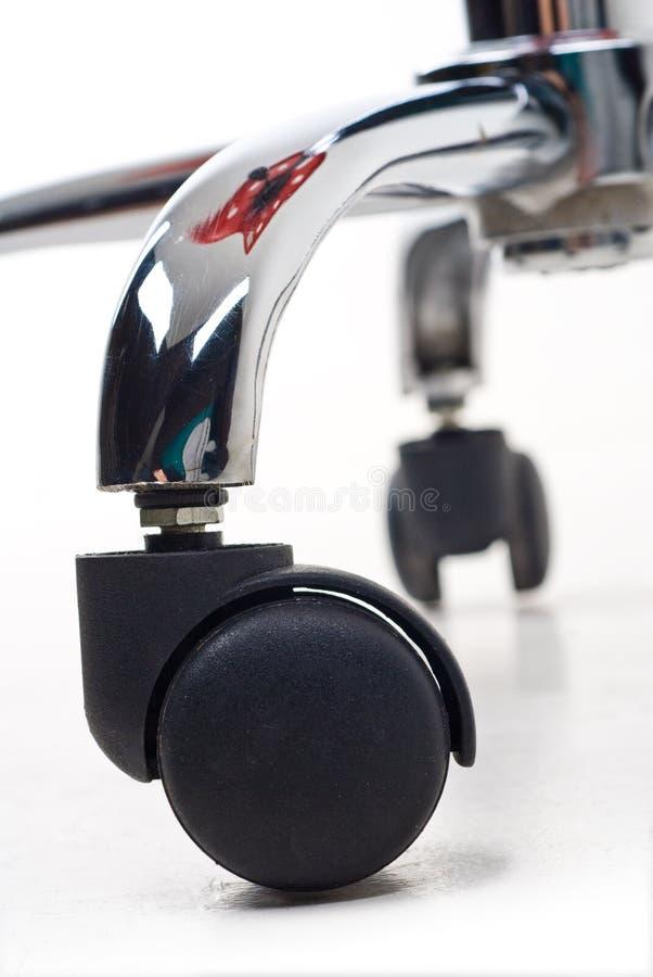 колесо стула стоковое изображение rf