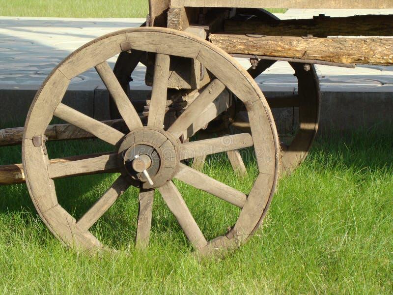 колесо тележки стоковое изображение rf
