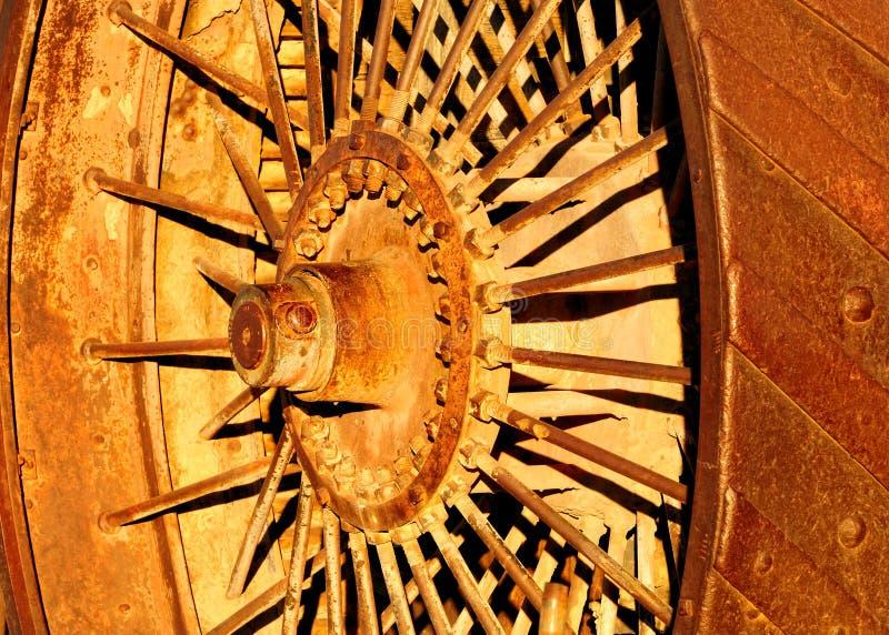 колесо трактора пара стоковые изображения rf