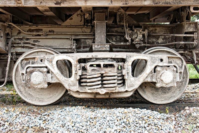 колесо фуры axle стоковые фото