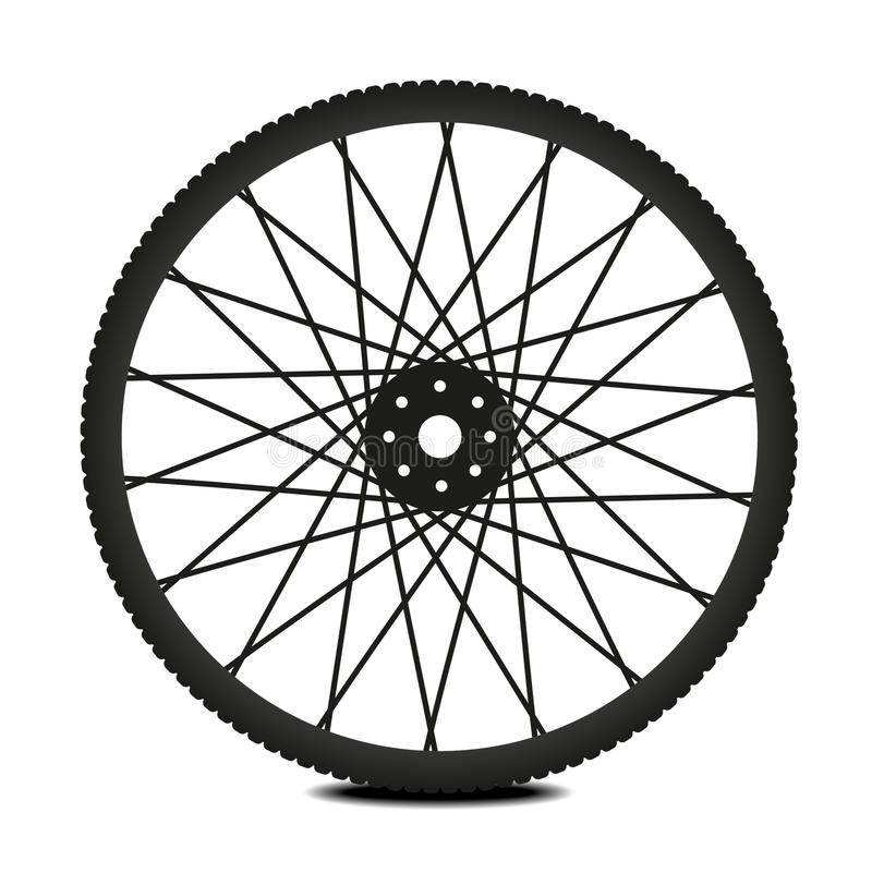 колесо bike иллюстрация штока
