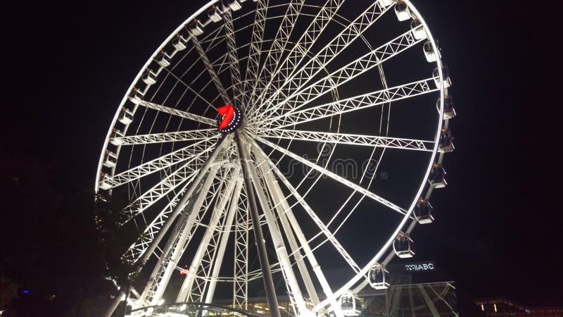 колесо brisbane стоковые фотографии rf