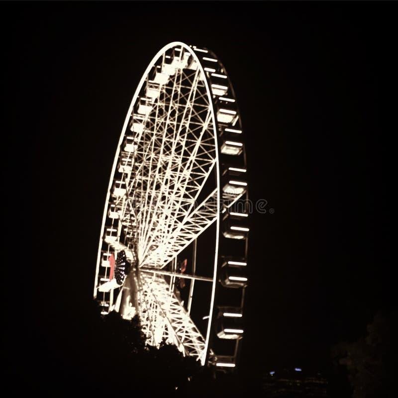 колесо brisbane стоковая фотография rf