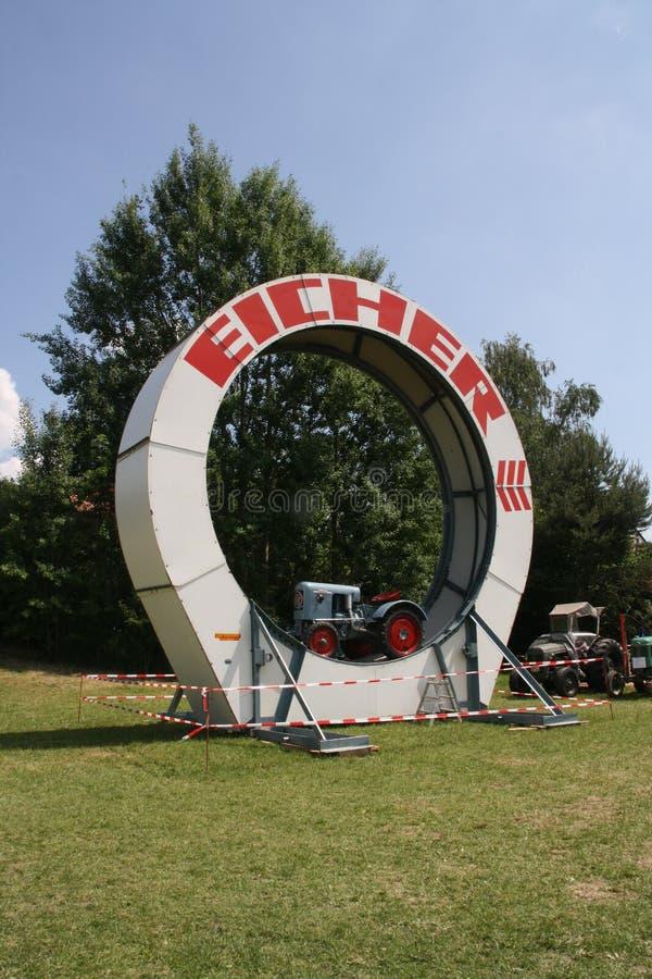 колесо eicher стоковая фотография rf