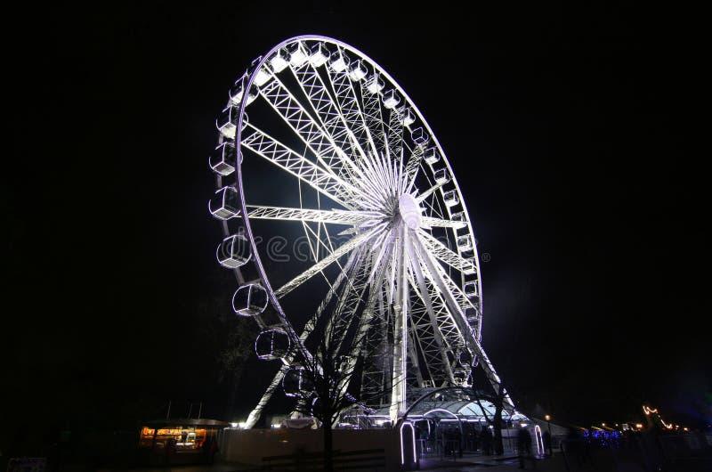 колесо ferris большое стоковое фото