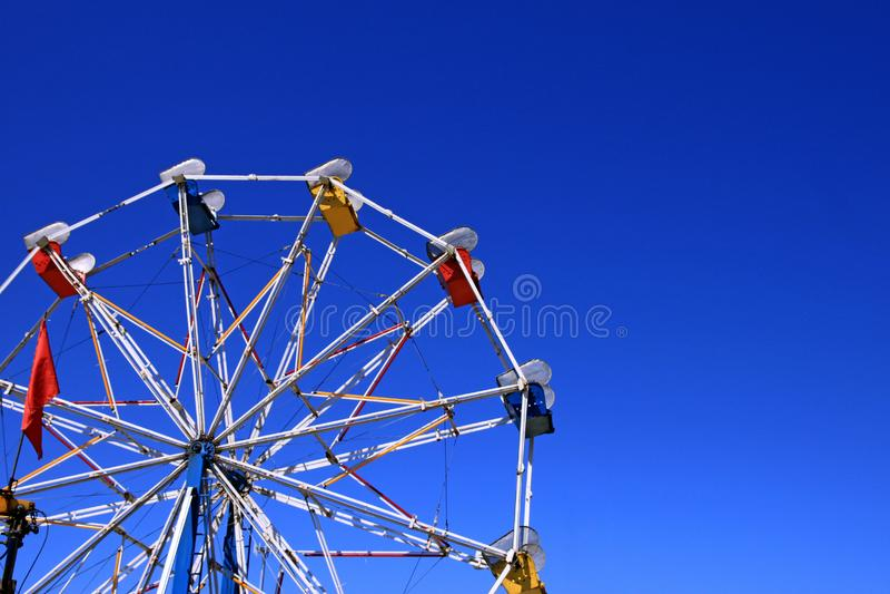 Колесо Ferris масленицы Рекы Hood стоковые изображения