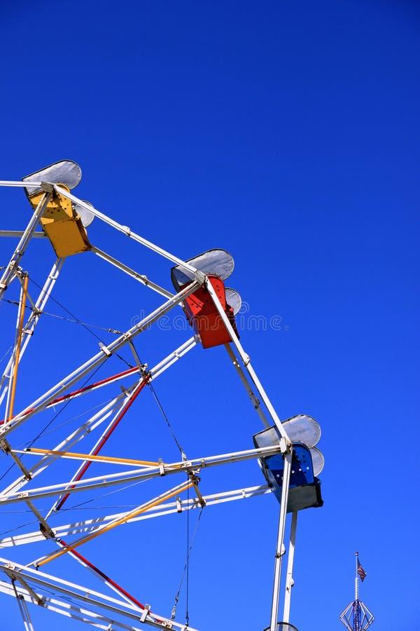 Колесо Ferris масленицы Рекы Hood стоковые фотографии rf