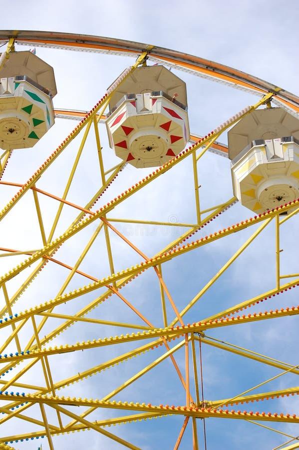 колесо ferris ярмарки графства стоковые фото