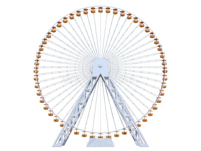 колесо ferris бесплатная иллюстрация