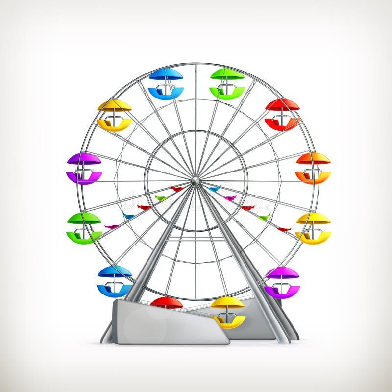 колесо ferris иллюстрация штока