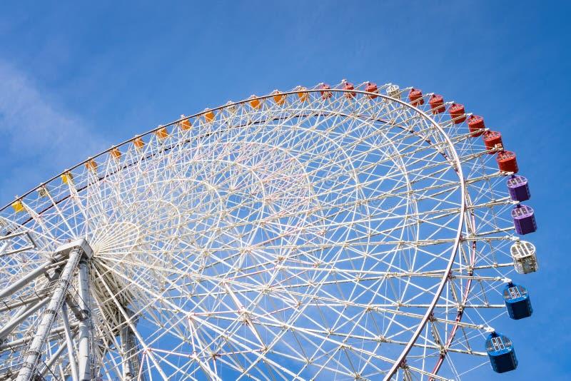 Колесо ferris Tempozan, большее гигантское колесо ferris на Осака стоковое фото