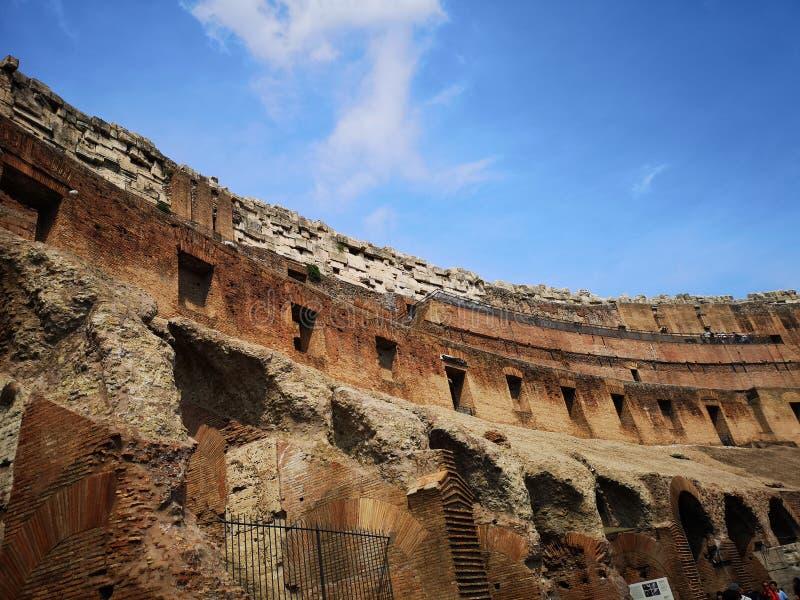 Колизей римский стоковое фото rf