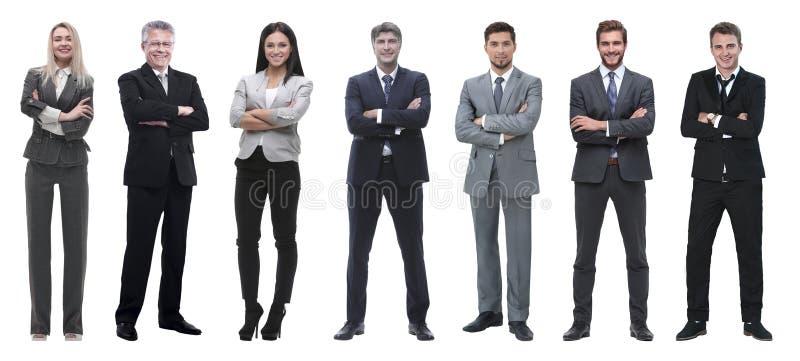 Коллаж смешанной возрастной группы сфокусированных профессионалов дела стоковое фото rf