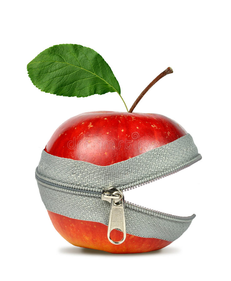 коллаж яблока стоковые изображения rf