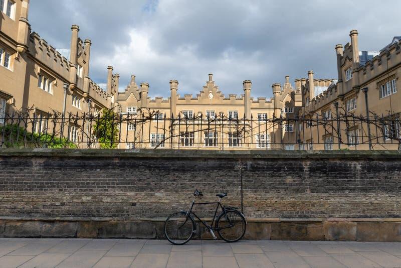 Коллеж Сидни Сассекс, Кембридж Великобритания стоковые фото