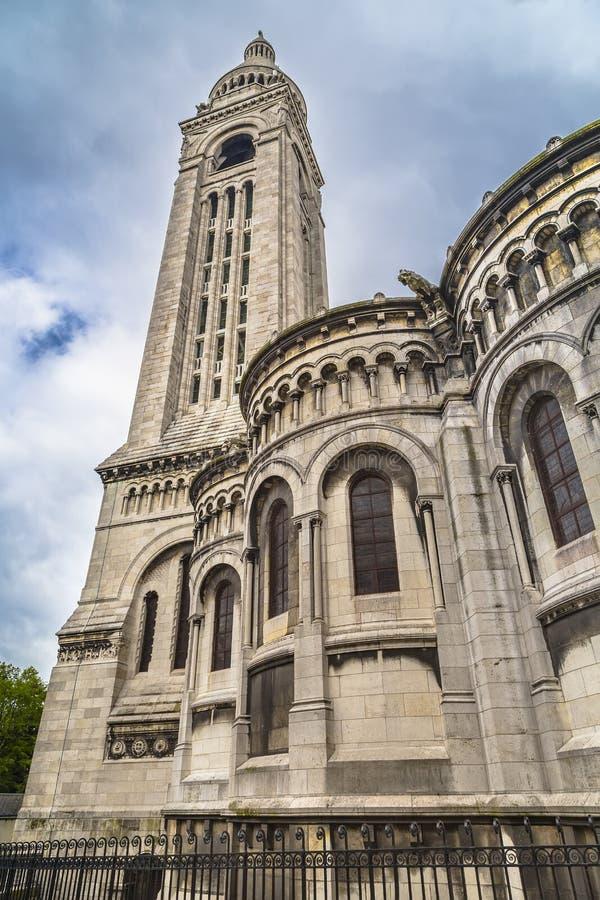 Колокольня базилики Sacre-Coeur стоковая фотография rf