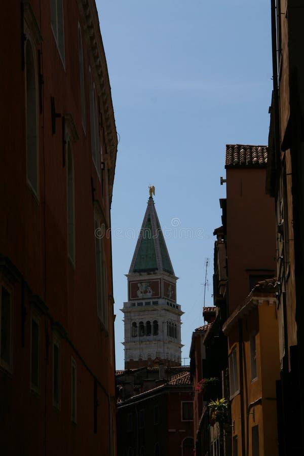колокольня di marco san venice стоковая фотография