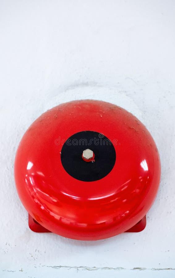 Колокол пожарной сигнализации стоковые фотографии rf