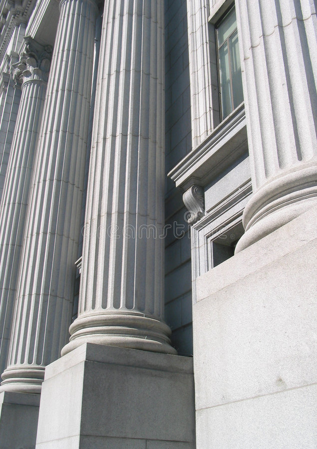 колонки стоковая фотография