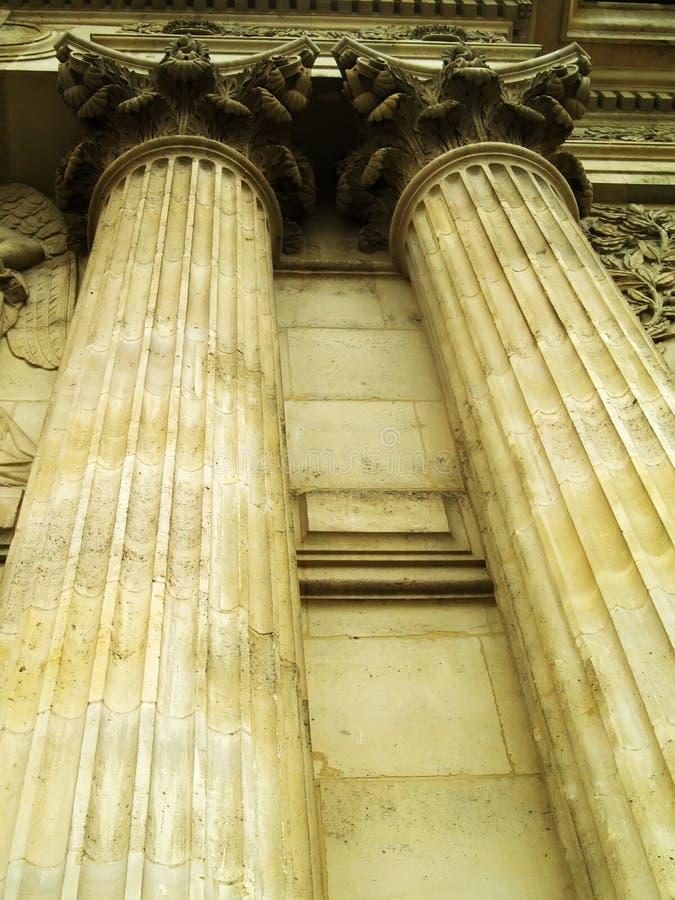 колонки стоковое изображение rf