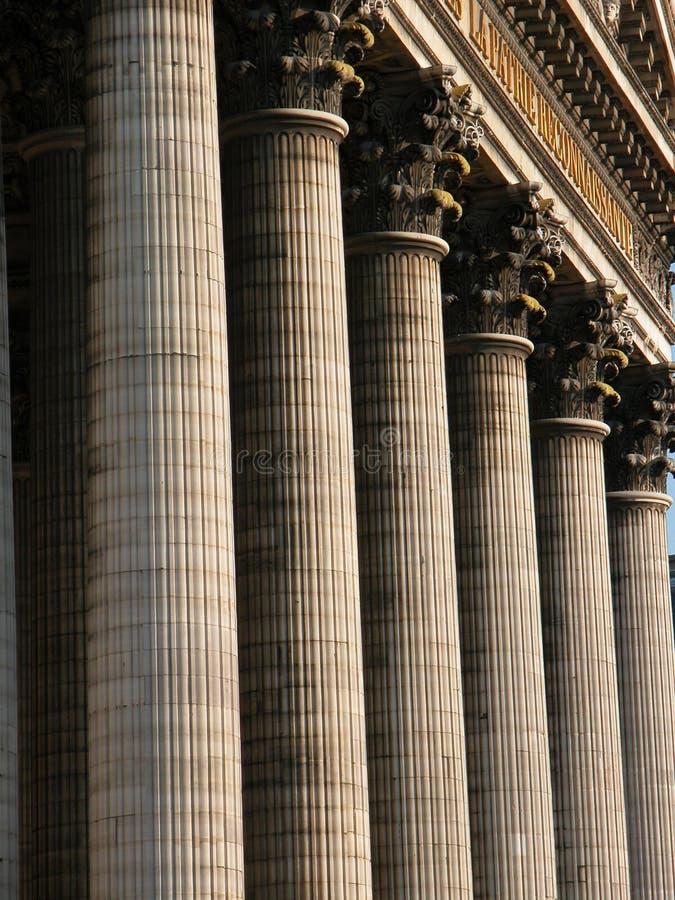 колонки стоковая фотография rf