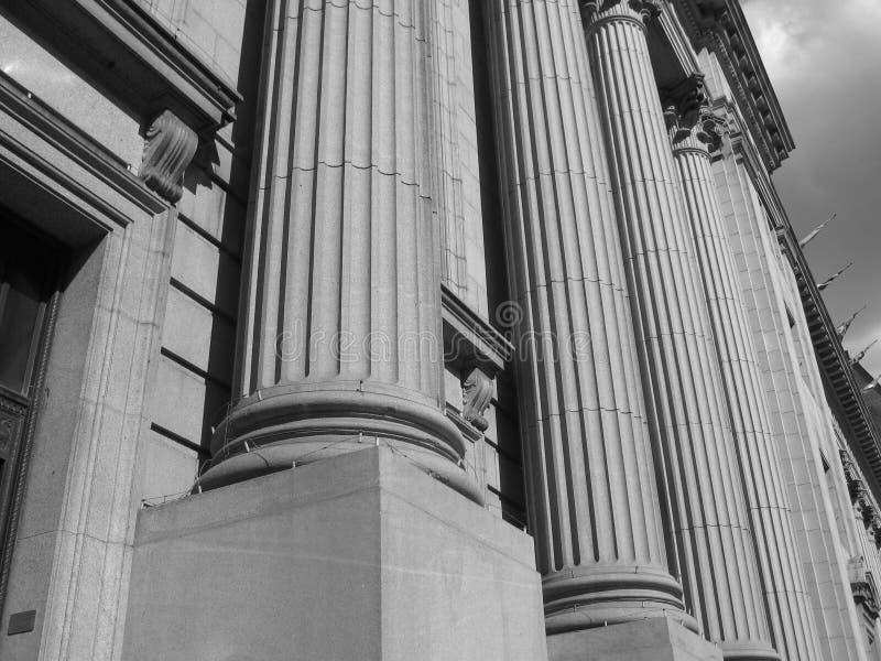 колонки стоковое изображение