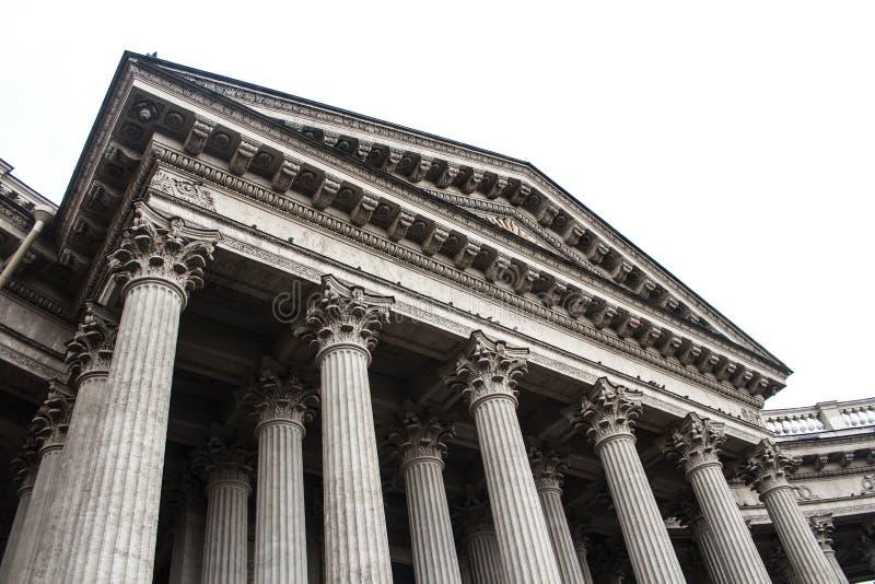 колонки kazan собора стоковые изображения