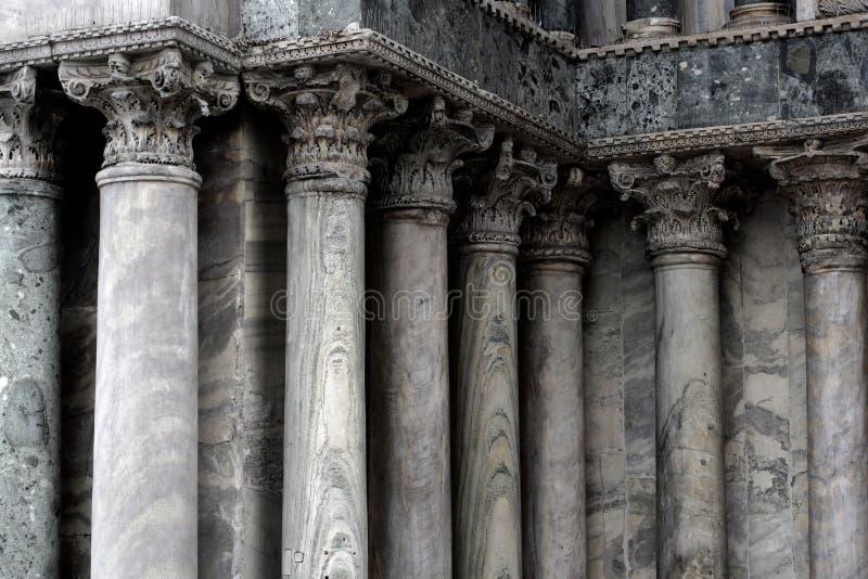 колонки venice стоковое изображение