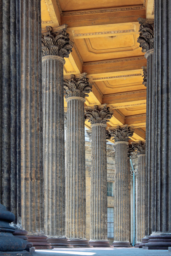 колоннада стоковое фото
