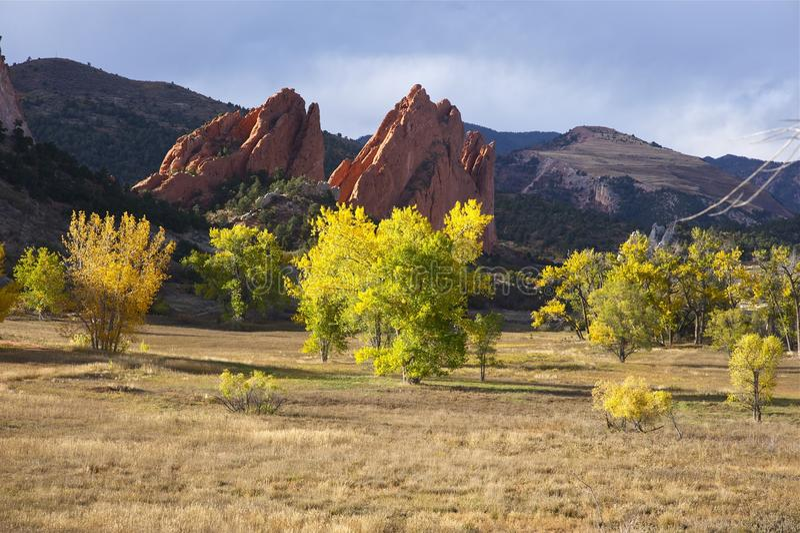 Колорадо-Спрингс CO стоковое изображение rf