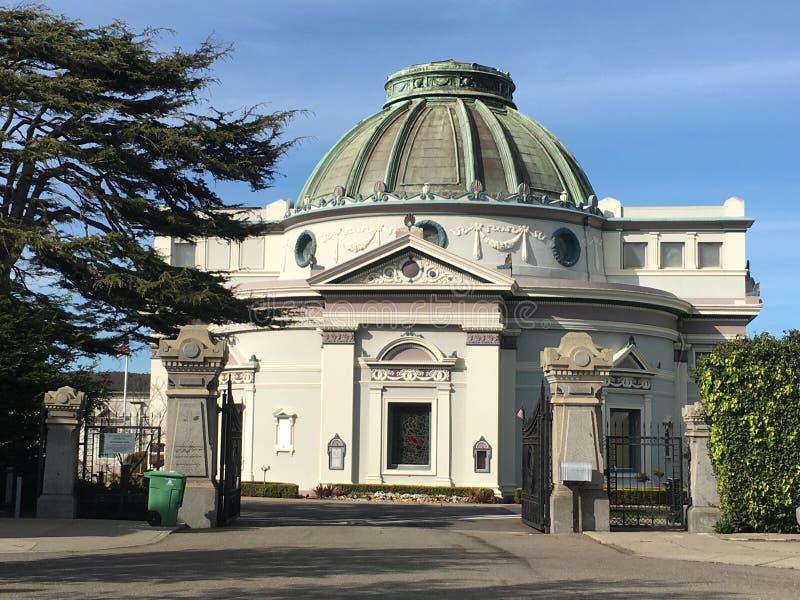 Колумбарий и похоронное бюро Сан-Франциско, 2 стоковые изображения rf