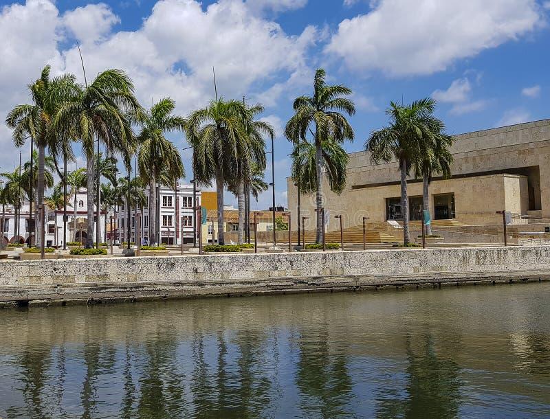 Колумбийский красивый ГОРОД Cartagena стоковое фото rf