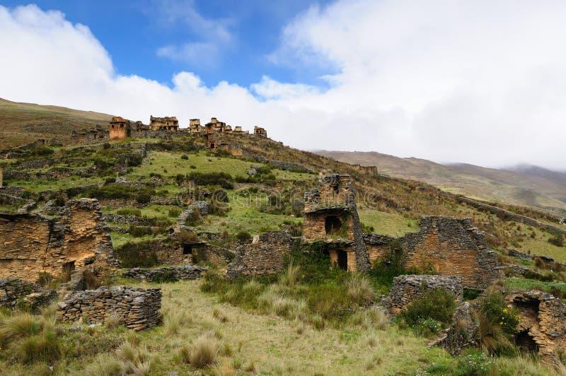 колумбийское близкое piruro Перу pre губит tantamayo стоковое изображение