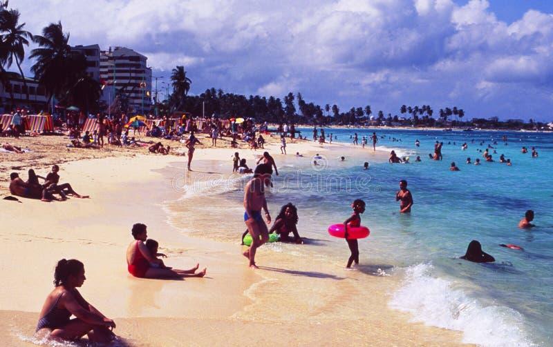Колумбия: Пляж острова San Andres назначения праздника стоковые фотографии rf
