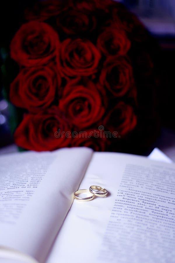 кольца книги стоковые фотографии rf