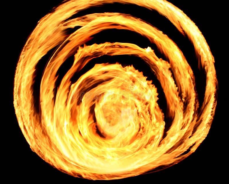 кольца пожара стоковое фото rf