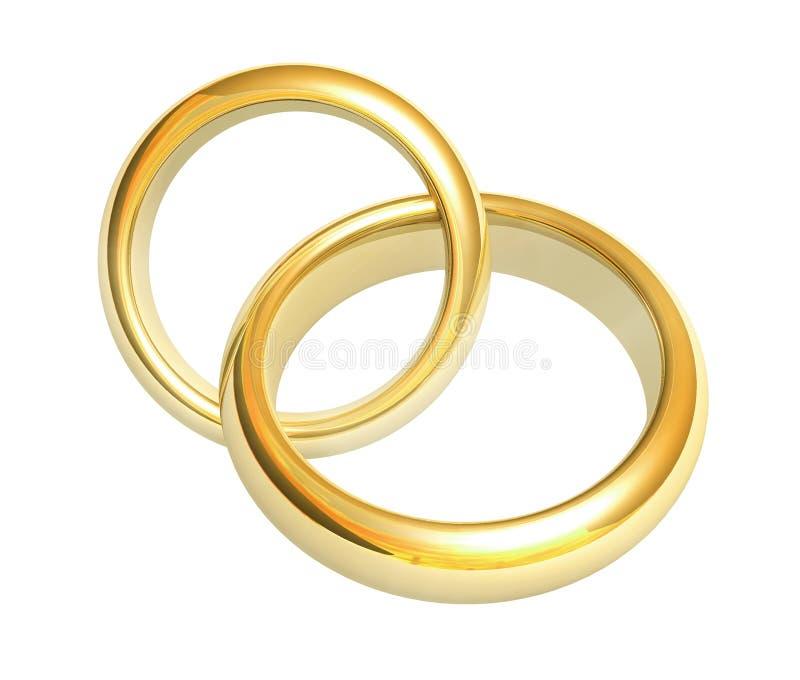кольца иллюстрация вектора