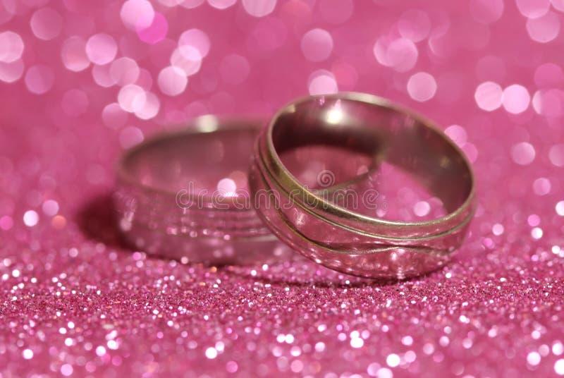 кольца 2 wedding стоковое фото