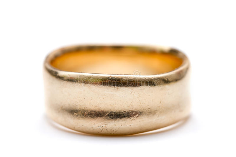 кольцо золота стоковая фотография