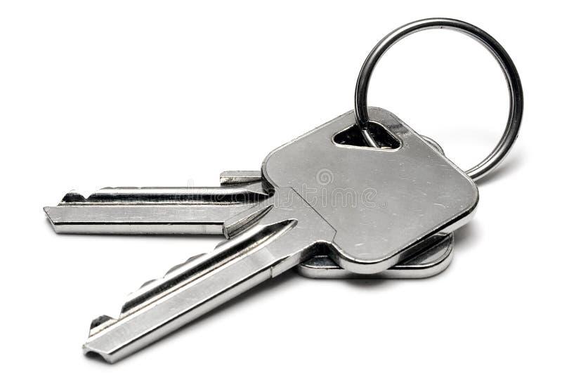 кольцо ключей 2 w квартиры стоковое изображение rf